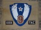 Eerbetoon aan het XXIX Tactical Air Command