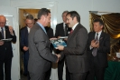 23. King's Commisioner Bovens and Mr. Gach, President of ENCI company