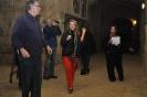 2.  Lynne walking through the Cave